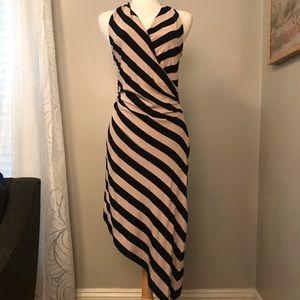 Betsey Johnson asymmetric midi dress